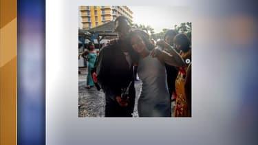 Rihanna et son cousin Tavon Kaiseen Alleyne
