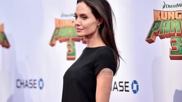 Angelina Jolie, le 16 janvier 2016