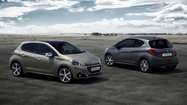 La Peugeot 208 était la voiture la plus vendue en France en janvier 2016.