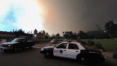 La police a dû intervenir à Santa Barbara, samedi soir, en raison d'une bagarre générale après une fête rassemblant 15.000 personnes (photo d'archive)