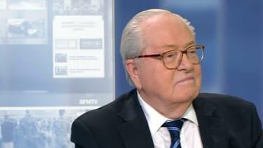 Jean-Marie Le Pen était l'invité d'Olivier Truchot ce mercredi.