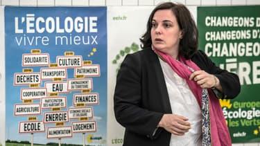 Emmanuelle Cosse, secrétaire nationale d'EELV.