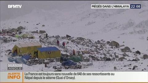 Des alpinistes sont piégés dans l'Himalaya