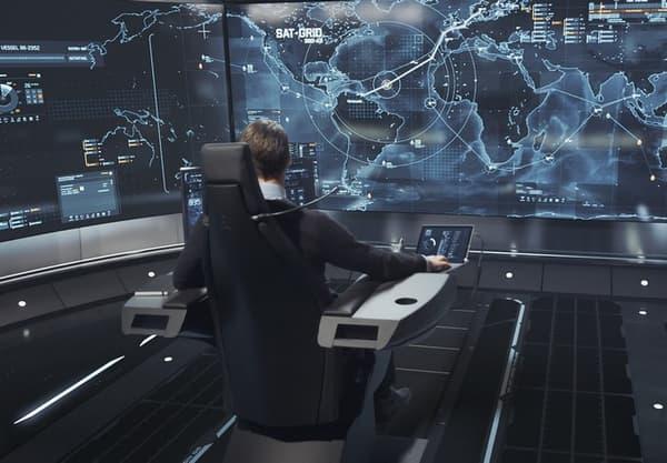 """Les opérateurs superviseront à distance sur leurs écrans, depuis des salles de contrôle, le bon déroulement de la route maritime suivie par les navires """"autonomes"""""""