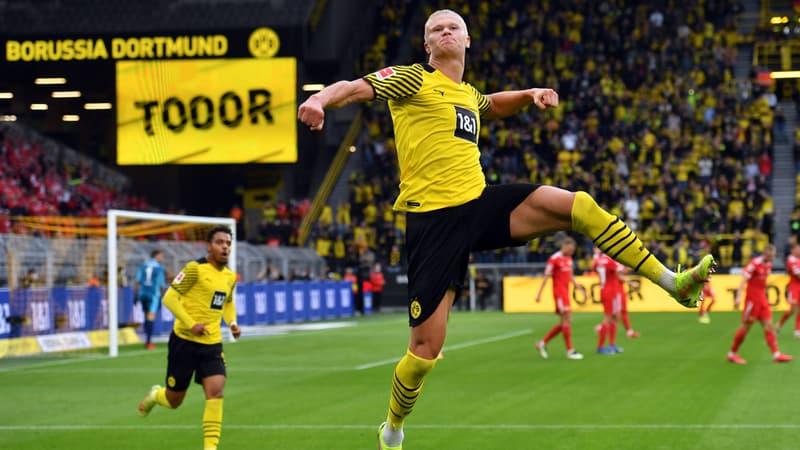 Dortmund: le monstre Haaland signe son retour par un doublé