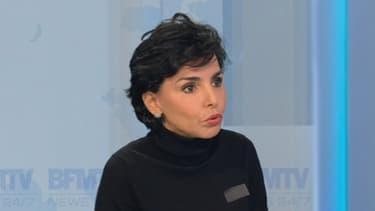 Rachida Dati était l'invitée de Ruth Elkrief le lundi 9 décembre.