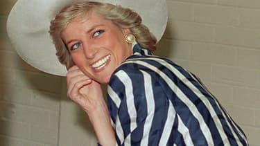 Lady Di le 27 janvier 1988 à Melbourne