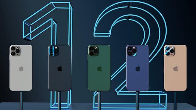 L'iPhone 12 par Apple.