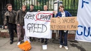 Des supporters rassemblés aux abords de Stamford Bridge