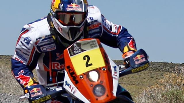 Cyril Despres est le grand gagnant de cette 3e étape