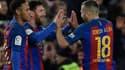 Neymar, Messi et Jordi Alba