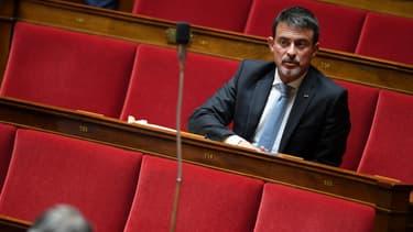 L'ex-Premier ministre, Manuel Valls, le 3 octobre 2017 à l'Assemblée nationale à Paris