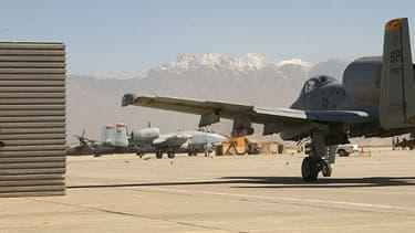 La base aérienne américaine de Bagram en Afghanistan