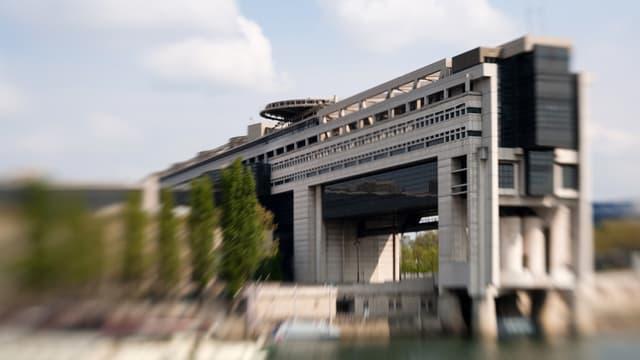 Le ministère de l'Economie, à Paris.