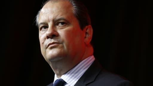 Le premier secrétaire du Parti socialiste, Jean-Christophe Cambadélis, le 20 juin 2015 à Paris
