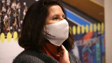 La ministre déléguée aux Sports, Roxana Maracineanu, le 12 janvier 2021 à Paris