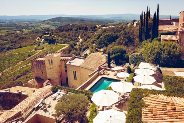 L'hôtel le Brave est un trésor perché face au Mont-Ventoux.