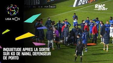 Liga portugaise : Inquiétude après la sortie sur KO de Nanu, défenseur de Porto