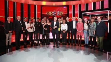 l'équipe des Grosses Têtes, le 1 juin 2015