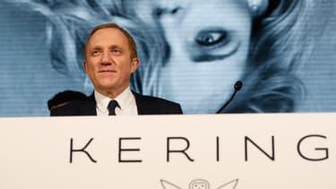 François-Henri Pinault, le directeur général du groupe de luxe Kering. (image d'illustration)