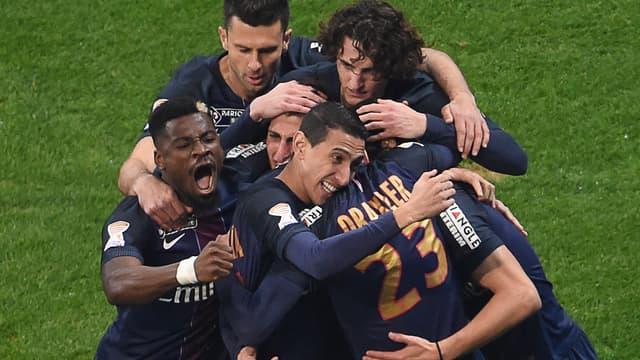 Les Parisiens ont largement dominé Monaco, ce samedi, pour décrocher leur quatrième Coupe de la Ligue d'affilée (4-1).