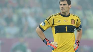 Iker Casillas, le gardien de but du Real de Madrid, fait partie des joueurs qui soutiennent la grève.