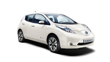 La Leaf de Nissan va pouvoir avancer sans l'aide d'un chauffeur.