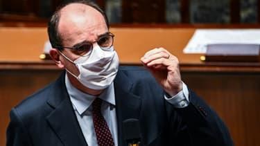 Le Premier ministre Jean Castex à l'Assemblée nationale, le 24 novembre 2020
