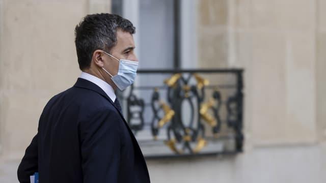 Gérald Darmanin, le 13 janvier 2021 à l'Élysée.