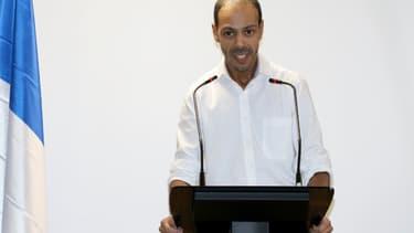 Le président de l'UDMF, Nagib Azergui le 1er décembre 2019
