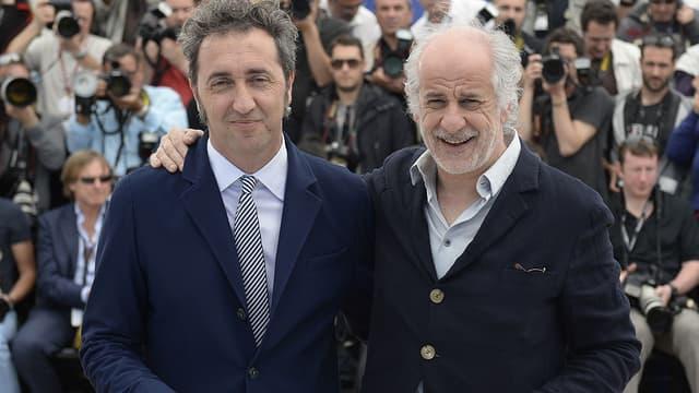 Le réalisateur Paolo Sorrentino et son acteur fétiche Toni Servillo