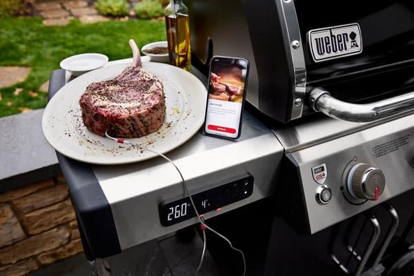 Des barbecues connectés au smartphone