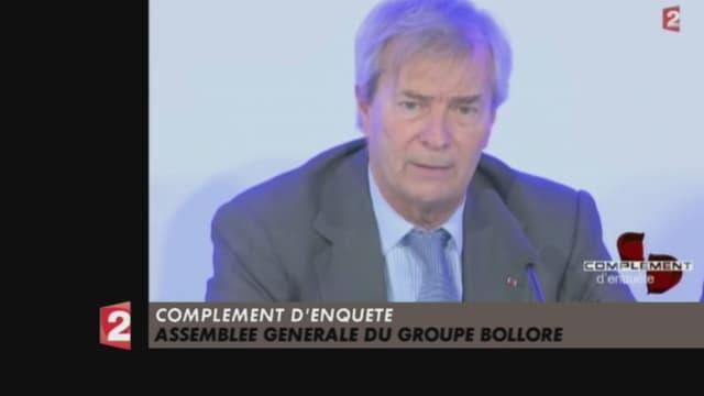 L'émission avait repris des extraits d'émissions critiques contre Vincent Bolloré