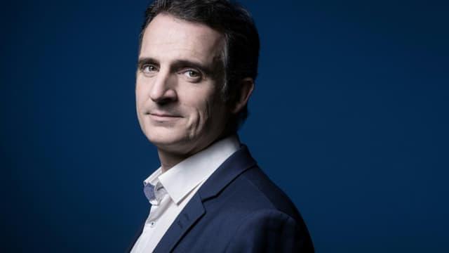 Le maire EELV de Grenoble Eric Piolle le 30 novembre 2020 à Paris