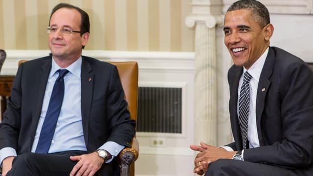 François Hollande et Barack Obama en mai 2012.