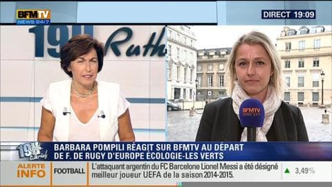 Barbara Pompili face à Ruth Elkrief