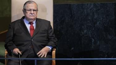 Le président irakien Jalal Talabani, le 23 septembre 2011.