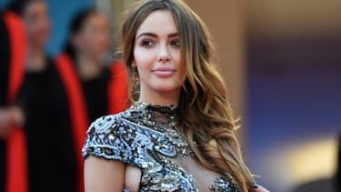 Nabilla sur le tapis rouge au Festival de Cannes 2018