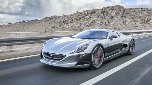 Une voiture croate et 100% éléctrique, voilà quelque chose de rarissime. Le 0 à 100 km/h en 2,8 secondes, c'est exceptionnel.
