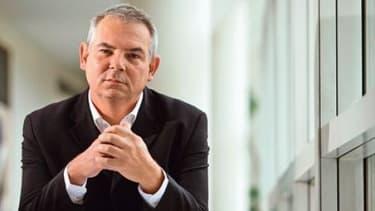 Thirerry Lepaon, successeur de Bernard Thibault à la CGT