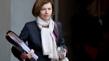 Florence Parly, Ministre des Armées, quitte l'Elysée le 30 octobre 2019