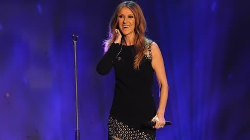 Céline Dion lors une récente émission en Allemagne.