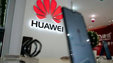 Le logo Huawei.