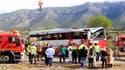 Accident de bus en Espagne: le chauffeur aurait été somnolent ou distrait.