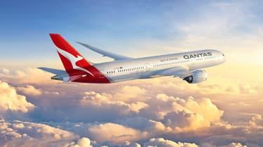 Qantas utilisera ses Boeing 787-9 Dreamliner pour parcourir les  14.498 kilomètres en 17 heures, de sa liaison directe Perth-Londres.
