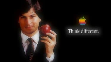 La pomme arc-en-ciel n'est pas le premier logo d'Apple, mais c'est celui qui a fait la célébrité du groupe dans le monde entier
