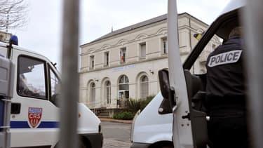 Le commissariat de Joué-les-Tours, en Indre-et-Loire