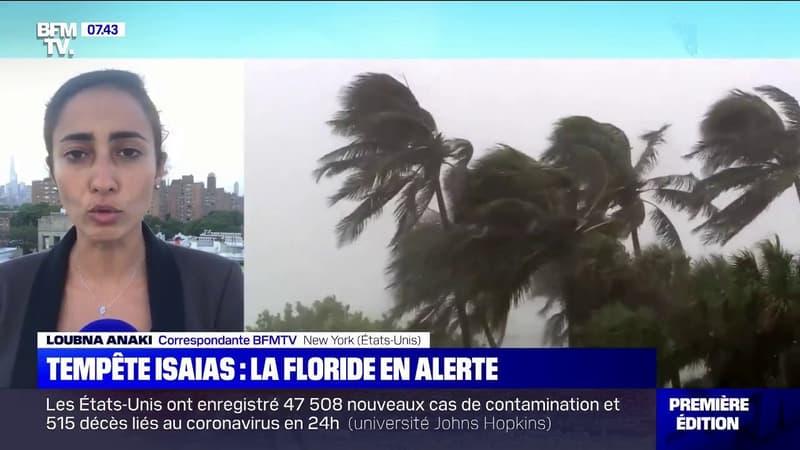Pourquoi la tempête Isaias en Floride pourrait avoir des conséquences sur les mesures de contrôles sanitaires ?