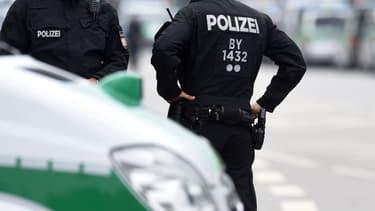 Des policiers allemands (photo d'illustration).