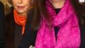 Liliane Bettencourt, aux côtés de sa fille Françoise Bettencourt Meyers. Malgré la réconciliation des deux femmes, l'affaire dite Woerth-Bettencourt est loin d'être terminée, huit procédures étant toujours instruites à Bordeaux. /Photo prise le 3 mars 201